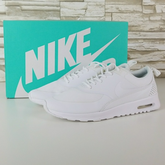Nike Air Max Thea all white women's shoes